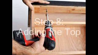 How To Build A Movable Wood Cabinet