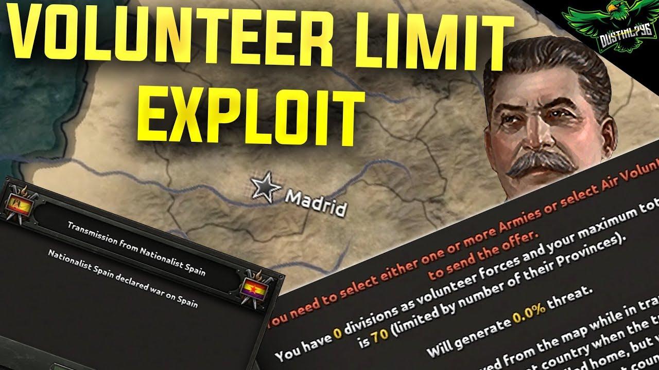 Hoi4 Volunteer Division Limit