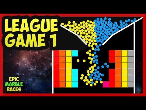 Epic Marble Race League Game 1 |