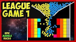 Epic Marble Race League Game 1