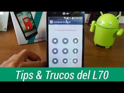 Tips y trucos del LG L70