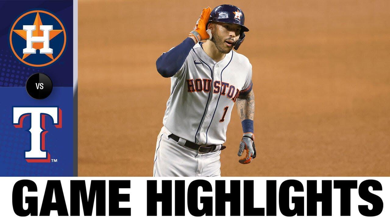 Download Astros vs. Rangers Game Highlights (9/16/21) | MLB Highlights