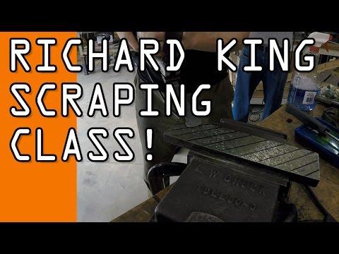 Richard King Metal Scraping Class!