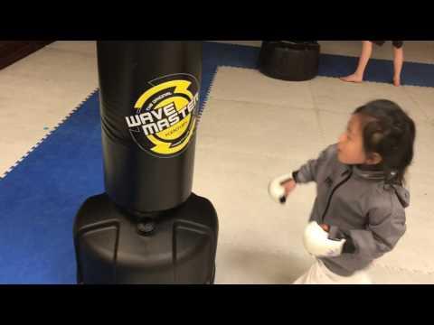 Ageless Karate Las Vegas Toddler Bag Work