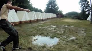 Bradavky jak beton (thunderstorm with gopro)