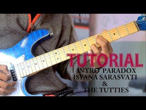 Tutorial Gitar Intro Paradox  Isyana Sarasvati & The Tutties