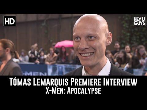 Tomas LeMarquis Premiere Interview - X-Men: Apocalypse