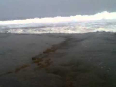 Penampakan nyi roro kidul di pantai sawarna