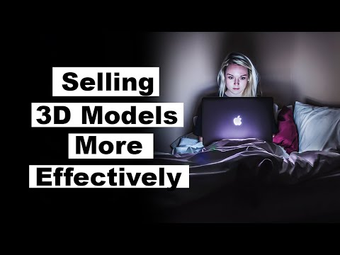 How to sell 3d models online
