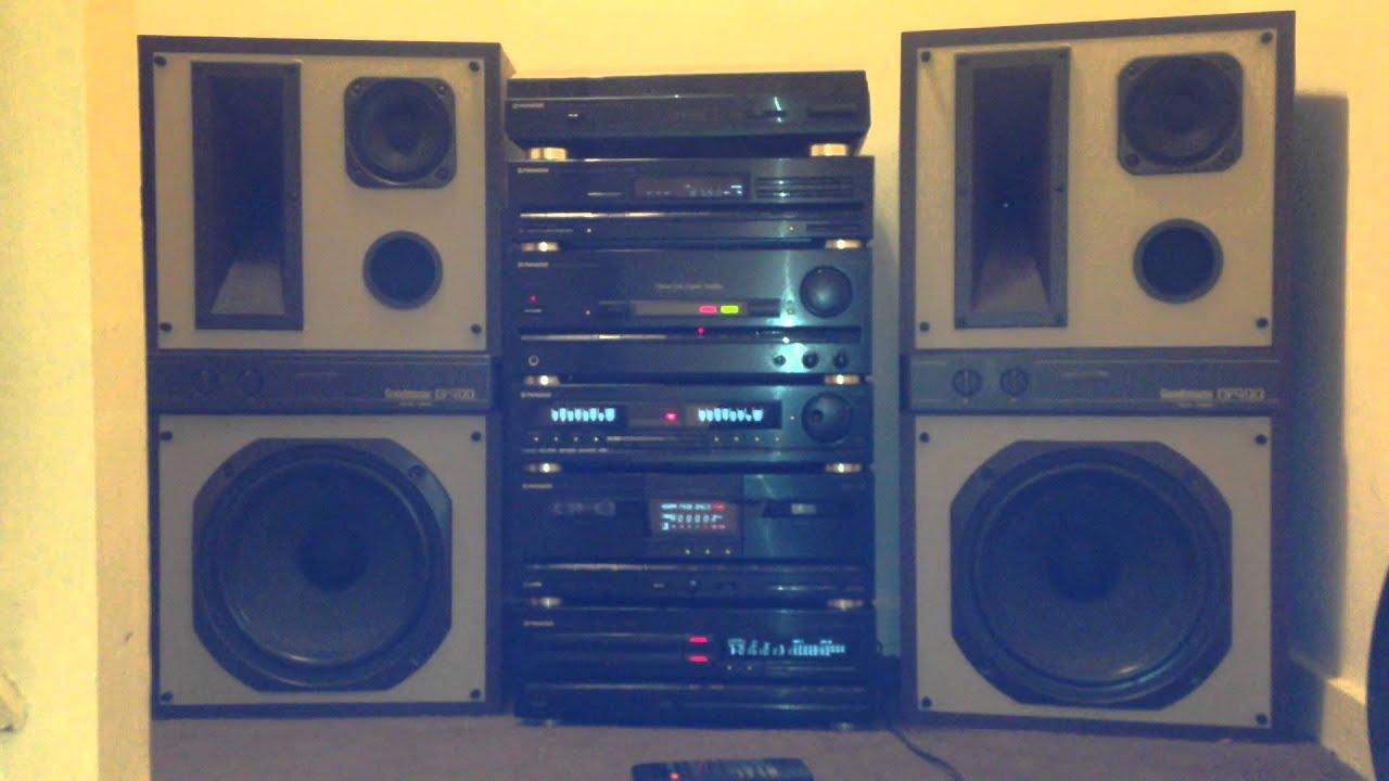Pioneer Hifi Stack System With Goodmans Dp900 Speakers