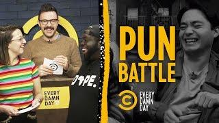 This Intense Pun Battle Deals Pun-ishing Blows