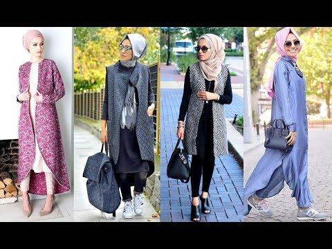 db413d4073674  موضة ملابس محجبات أجمل ازياء المحجبات 💓💓 تنسيق ملابس المحجبات - YouTube