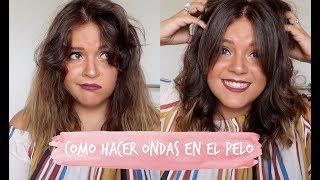 CÓMO ME HAGO MIS ONDAS EN EL PELO | Laura Yanes