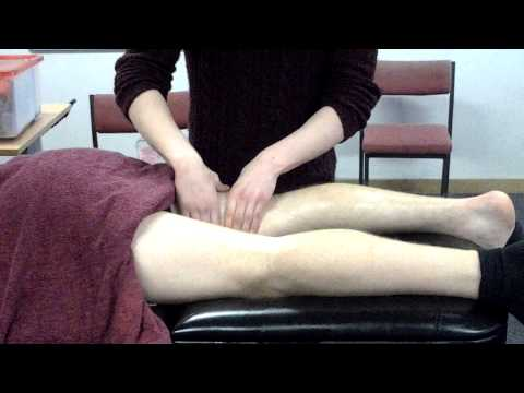 Jordan Lilley Leg Massage