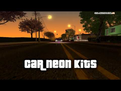 GTA-MP.CZ | Car neon kits preview