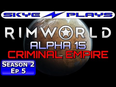 Rimworld ALPHA 15 S2E05 ►THE MAIN BASE LAYOUT!◀ Let's Play/Gameplay