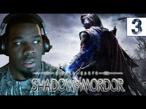 Middle Earth Shadow of Mordor Gameplay Walkthrough Part 3 Ratbag the Coward - Lets play
