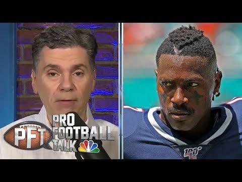 Is Antonio Brown Eyeing Steelers Return With Big Ben Apology?   Pro Football Talk   NBC Sports