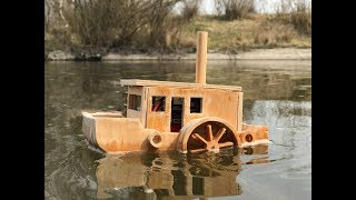 DIY paddle steamer do it yourself