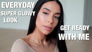 GET READY WITH ME | EVERYDAY SUPER GLOWY Look | Lamiya Slimani