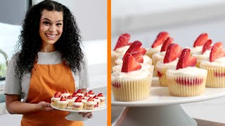 Jordin Sparks' Strawberry Moscato Cupcakes | Heart of the Batter