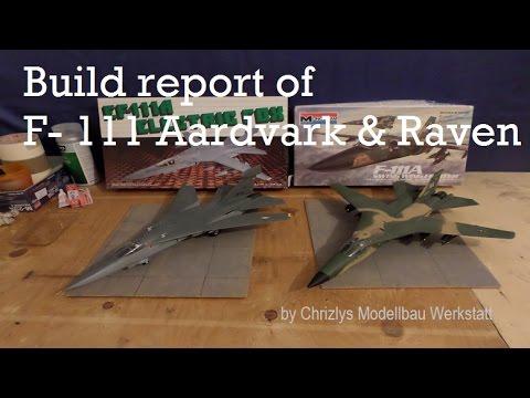Baubericht General Dynamics F-111 Aardvark & Raven by Chrizlys Modellbau Werkstatt