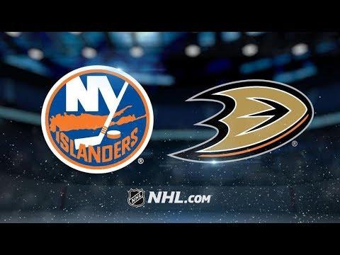 New York Islanders Vs. Anaheim Ducks   NHL Game Recap   October 11, 2017   HD