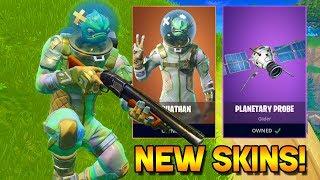NEW LEGENDARY SKINS & GLIDERS GAMEPLAY! (Fortnite)