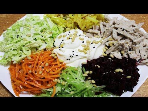 Французский салат Гайрат -  быстро, просто, вкусно!