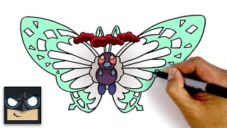 How To Draw Gigantamax Butterfree | Pokemon Sword & Shield