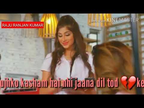 Bich safar me kahi mera sath chhod kar || Dil laga liya || Whatsapp status video Raju ranjan kumar
