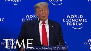 Trump At Davos Boasts U.S. Economy 'Nothing Short Of Spectacular' As Senate Trial Resumes | TIME