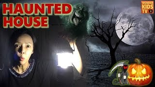 소리내지마! 유령의 집으로 들어갈거야. 조용히 따라와. halloween Escape haunted house l ghost house