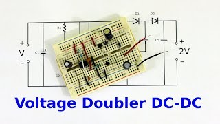 DC to DC Voltage Doubler with 555 Timer