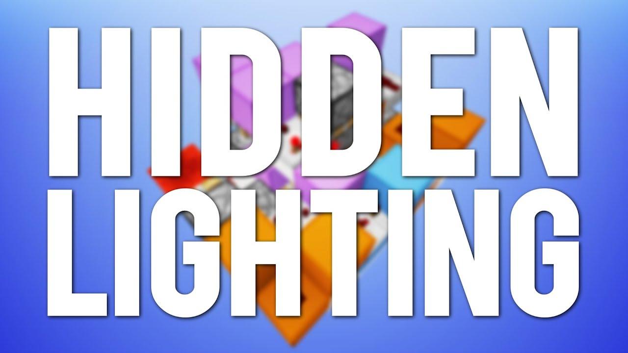 minecraft fancy modern hidden lighting youtube