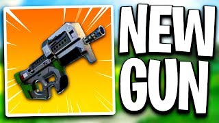 "New Gun In Fortnite - New ""P90"" Gun Coming To Fortnite Battle Royale! (Fortnite New Gun)"