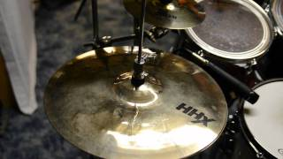 sabian cymbal sample sounds aax hhx crash china ride splash hi hats