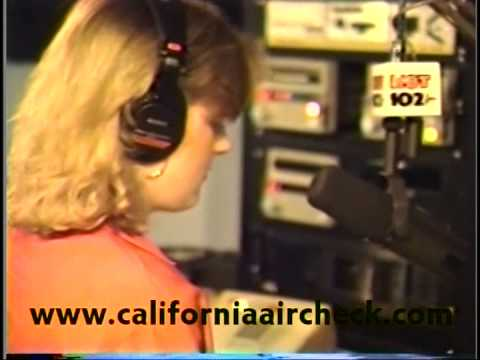 WLUM Hot 102 Milwaukee Dana Lundon 1991 California Aircheck Video