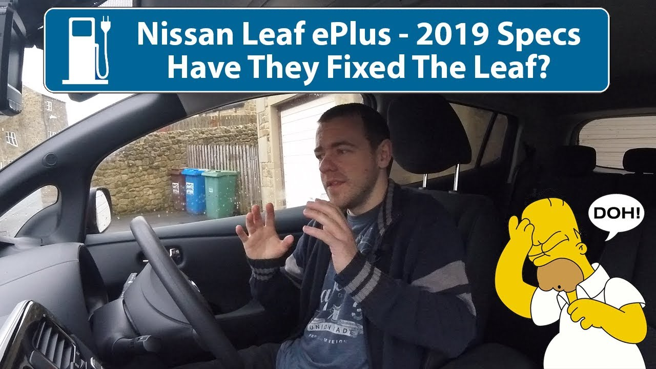 Wallpaper Cars 2019 Nissan Leaf Youtube