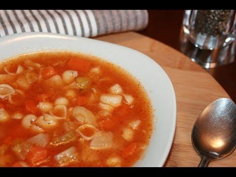 recette-soupe-aux-légumes-&-nouilles---recettes-maroc