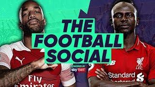 Arsenal 1-1 Liverpool | Lacazette Saves Arsenal's Unbeaten Streak! | The Football Social