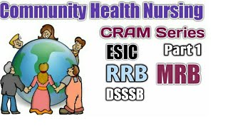 Community Health Nursing / part 1 / RRB / MRB