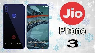 Jio Phone 3 - First Look, Specifications, Price, Launch in India (Concept)