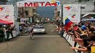 TVes - Llegada de la etapa 7 en la Vuelta al Táchira 2014
