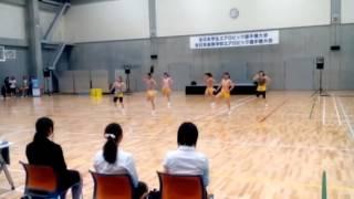 【全国学生エアロビック選手権2015】早稲田大学SEIZE