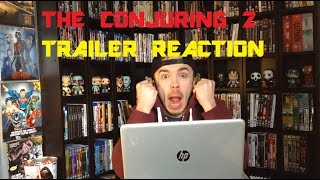 THE CONJURING 2 TRAILER REACTION!