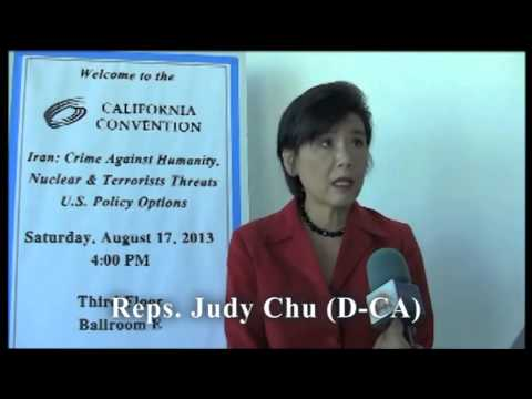 Reps. Judy Chu (D-CA) discussed Iranian regime's new president, Hassan Rouhani.
