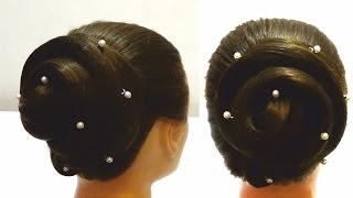 Прическа на длинные волосы за пару минут.Вечерняя прическа.Haircut for long hair(Спасибо за подписку и лайки! http://www.youtube.com/user/LiliaLady777 Я покажу вам как сделать прическу из длинных волос за..., 2013-11-02T06:32:24.000Z)