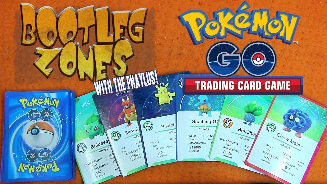 Bootleg Zones: Pokemon GO Cards