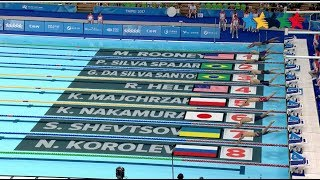 Highlights Competitions Day 7-2 - 29th Summer Universiade 2017, Taipei, Chinese Taipei -